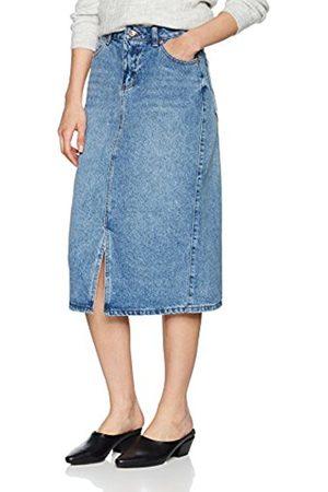 New Look Women's Helen Split Front Skirt