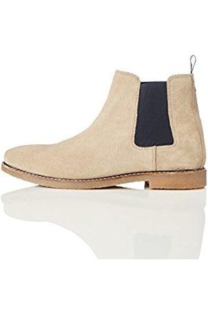 FIND Men's Suede Chelsea Boots