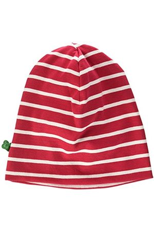 Green Cotton Stripe Beanie