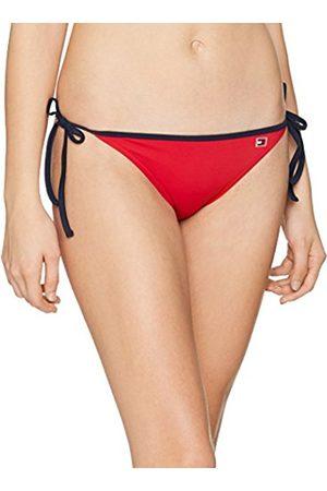 Tommy Hilfiger Women's Cheeky String Side Tie Bikini Bottoms