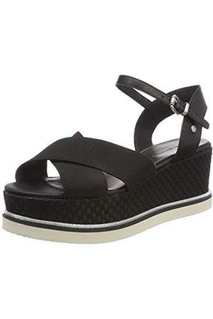 Tommy Hilfiger Women's Sporty Stretch Flatform Sandals