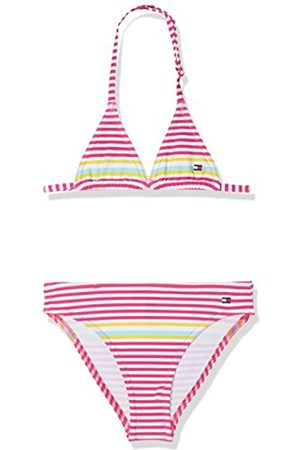 Tommy Hilfiger Girl's Triangle Bikini Swimwear Set
