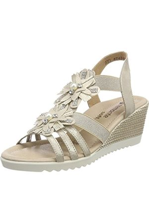 Remonte Women's D3462 Ankle Strap Sandals