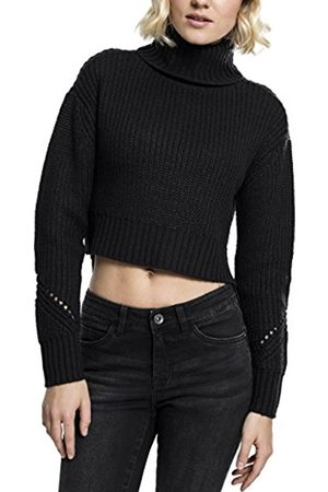 Urban classics S Women's Ladies Hilo Turtleneck Roll Collar Sweater