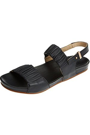 Neosens Women's S955 Restored Skin Ebony/Lairen Open Toe Sandals
