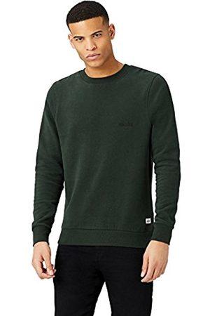 HIKARO Men's Logo Brushed Sweatshirt