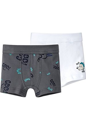 Schiesser Boy's 2pack Hip Boxer Shorts