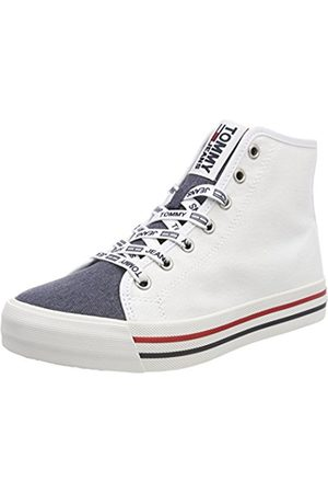 Tommy Hilfiger Women's Casual Mid Cut Hi-Top Trainers