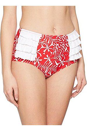 Pour Moi Women's Fiesta Control Brief Bikini Bottoms, 16