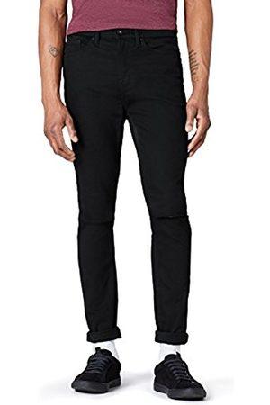 FIND Men's Skinny Knee Slit Jeans
