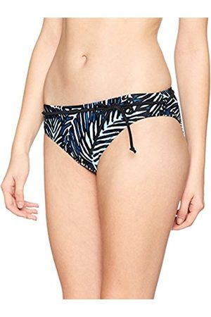 Pour Moi Women's Barracuda Belted Brief Bikini Bottoms, 14
