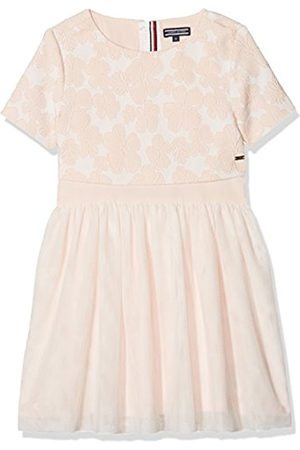 Tommy Hilfiger Girl's Eid Delightful Layered Tulle S/s Dress