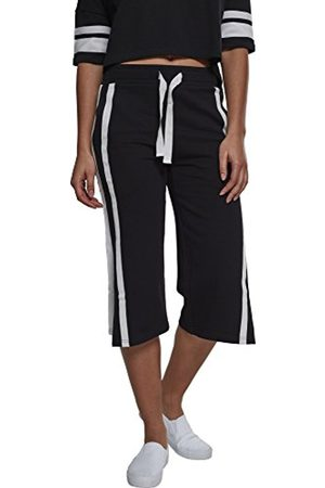 Urban classics Women's Ladies Stripe Pleated Culotte Sports Pants Outlet 100% Guaranteed 25FiAaZ