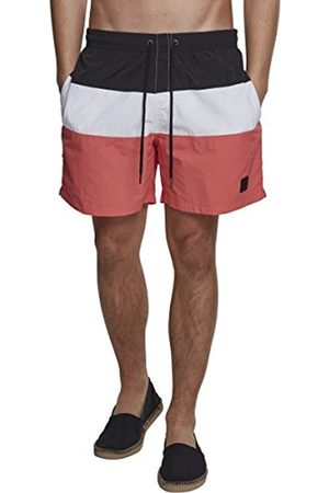 Urban classics Men's Color Block Swimshorts Shorts