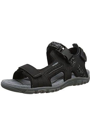 Geox Men's Uomo Strada A Ankle Strap Sandals