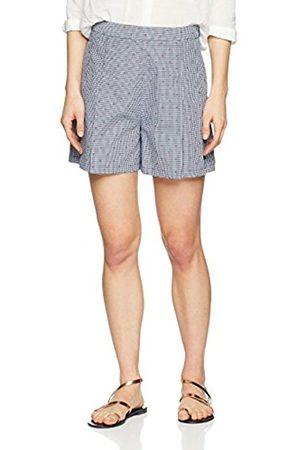 Tommy Hilfiger Women's Marina HW Short, (Star Gingham Dobby/Peacoat 392)