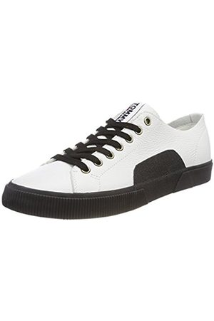 Tommy Hilfiger Men's TJ Urban Leather Low-Top Sneakers