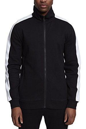 Urban classics Men's 2-Tone Interlock Track Sports Jacket
