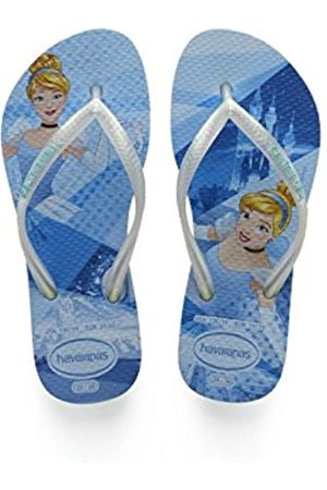Havaianas Girls' Slim Princess Flip Flops