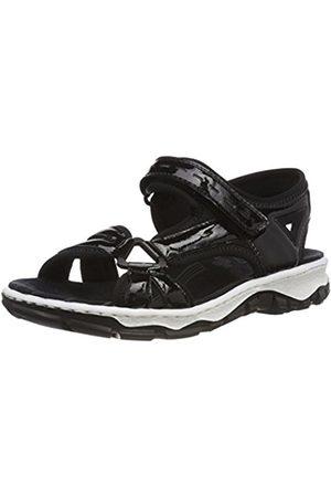 Womens 68879 Closed Toe Sandals Rieker Zrfm4T1f