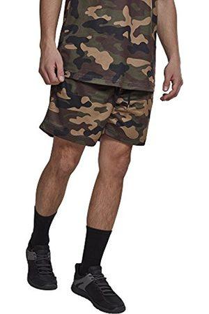 Urban classics Men's Camo Mesh Shorts