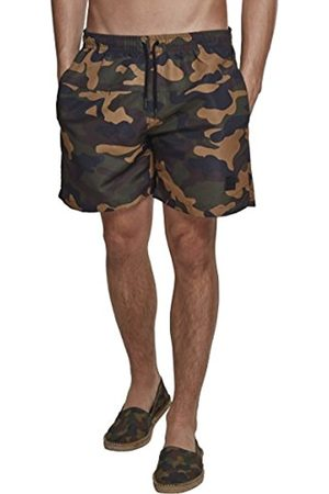 Urban classics Men's Camo Swimshorts Shorts