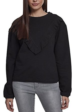 Urban classics Women's Ladies Terry Volant Crew Jumper