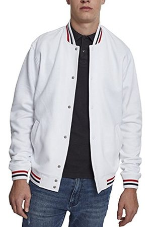 Urban classics Men's 3-Tone College Sweat Track Jacket