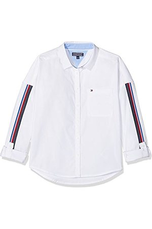 Tommy Hilfiger Girl's Oversized Tape Detail Shirt L/s Blouse