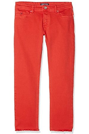 Tommy Hilfiger Girl's Lana Straight Cropped Icpst Jeans