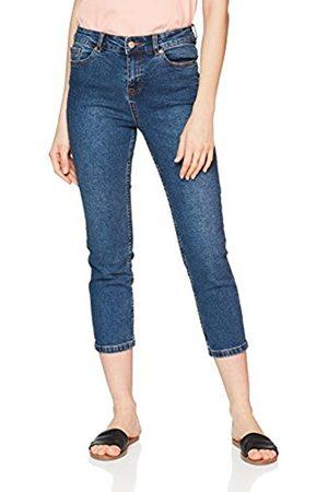 New Look Women's Ruby Crop Straight Jeans, ( Pattern)