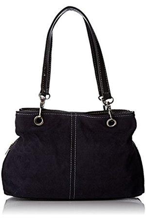 Chicca borse 10028, Women's Top-Handle Bag, Blu