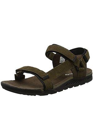 Merrell Men's Burnt Rock Anders Strap Open Toe Sandals, ( Slate)