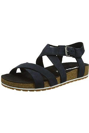 Women's Malibu Waves Ankle Sandals, (Jet Naturebuck 015)