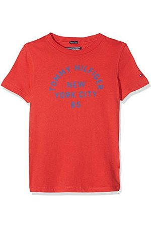 Tommy Hilfiger Boy's AME Bright Graphic Tee S/s T-Shirt