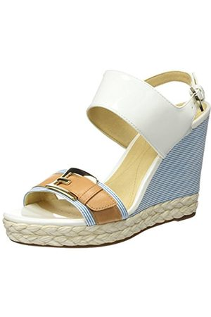 Geox Women's Donna Janira E Flatform Sandals
