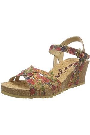 Panama Jack Women's Vera Cork Open Toe Sandals