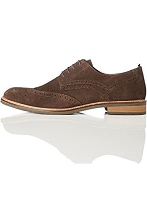 FIND Men's Suede Lace-up Brogues