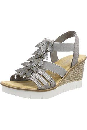 Rieker Women's 65505 Flatform Sandals