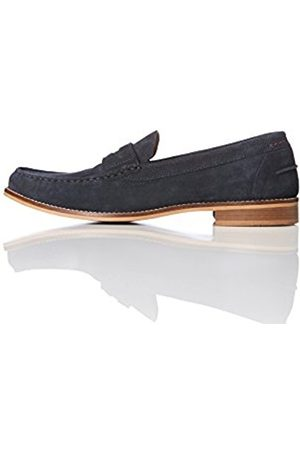 FIND Men's Suede Penny Loafers