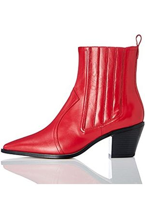 FIND Women's Western Ankle Boots