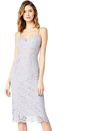 TRUTH & FABLE Women's Lace Peepthrough Dress