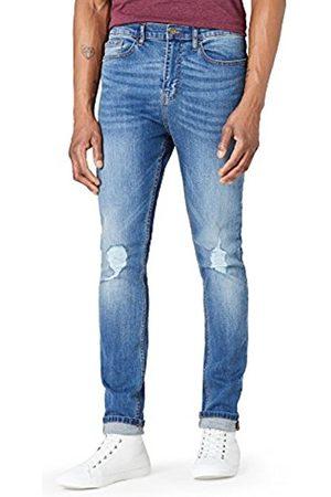 FIND Men's Skinny Distressed Jeans