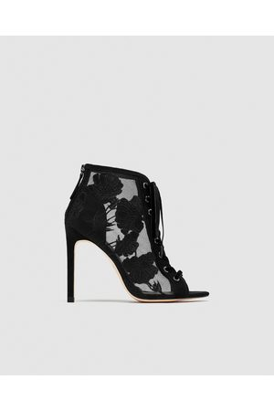 Zara Lace Shoes Women S Heels Compare Prices And Buy Online