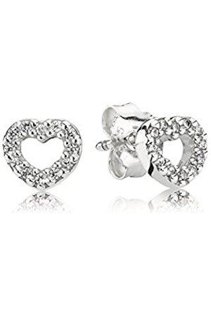 PANDORA Women's 925 Sterling Silver Cubic Zirconia Earrings