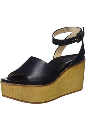 Womens S628 Restored Skin Ebony/Mulata Open Toe Sandals Neosens KKopfCBZO