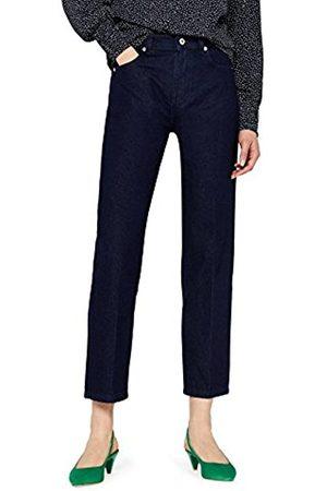 FIND Women's Straight Crop Jeans