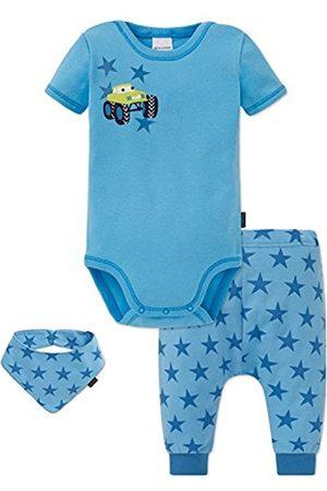 Schiesser Boy's Baby Scarf, Hat and Glove Set