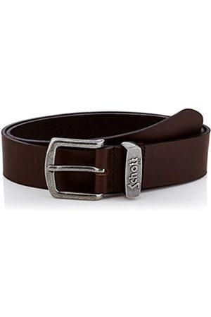 Schott NYC Schott Men's 7306 Plain or unicolor Belt - - - Medium (Brand size: 90)