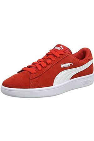 Puma Unisex Kids' Smash V2 SD Jr Low-Top Sneakers, (High Risk )
